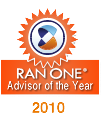 Ran One Advisor of the year 2010 award